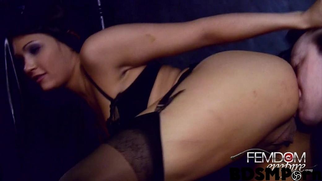 Femdomempire.com – Cum licking cuckold Jade Indica 2012 Cum Eating