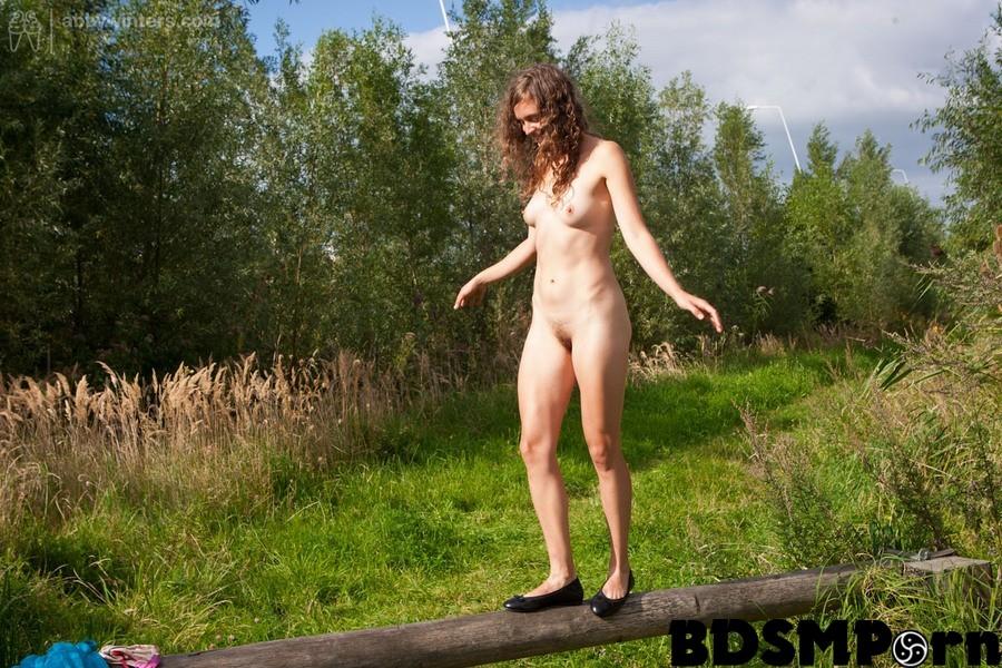Sexy redhead bikini